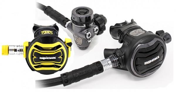 Apeks Tungsten XTX 200 Atemregler Set DIN Anschluss + Oktopus XTX 40 Taucher Regler Set Kaltwasser