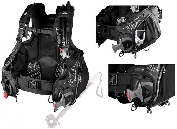 Mares Quantum SLS Tauchjacket Tarierjacket Taucher Jacket integrierte Bleitasche