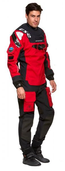 Waterproof EX2 Trockentauchanzug Quad Laminat Trocki man Red Atmungsaktiv