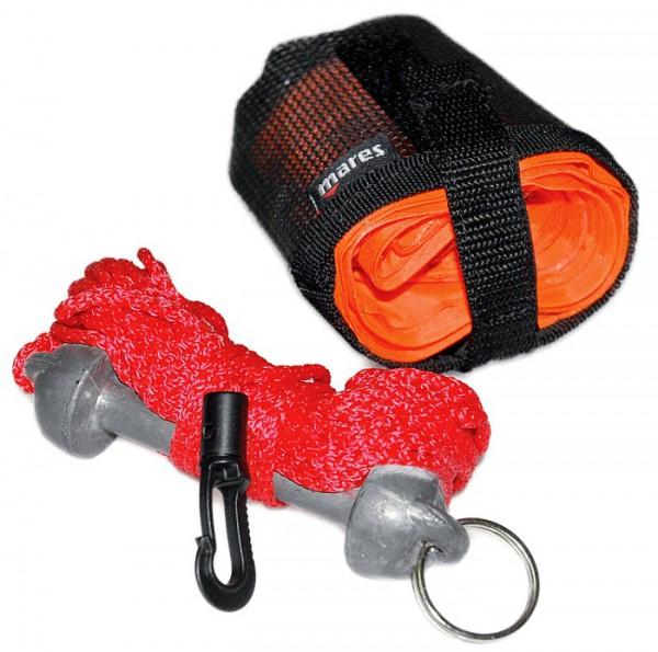 Mares Compact Tauchboje Taucher Oberflächen Sicherheitsboje Deko Boje orange