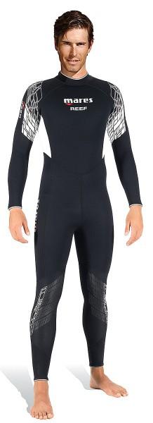 Mares Reef 3mm 3 mm dünner Tauchanzug Neopren Herren Taucher Anzug neues Modell tauchen