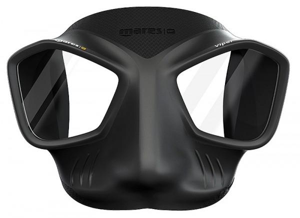 Mares Viper Apnoemaske schwarz Apnoe Taucher Maske Freitauchmaske Freitaucher Maske tauchen