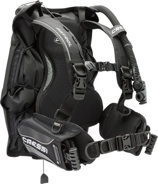 Cressi Patrol Tauchjacket Taucher Tarier Wing Weste Reise Jacket Unisex integrierte Bleitaschen