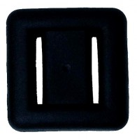 Blei & Bleigürtel 20902 Polaris Blei ummantelt schwarz  2 kg