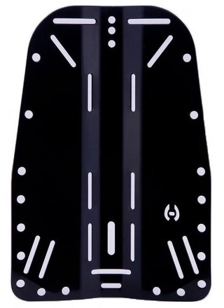 Hollis Back Plate Grundplatte Backplate Aluminium Alu Rücken Platte Tech TEK Taucher