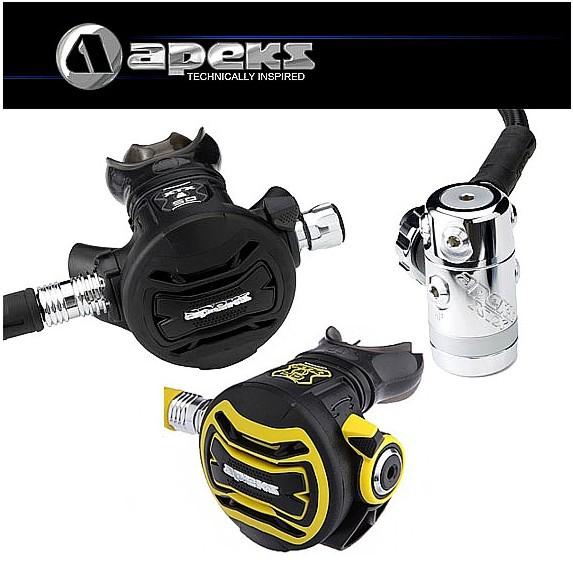Apeks XTX 50 Atemregler Set + Oktopus XTX 40 Kaltwasser Taucher Regler
