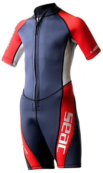 Seac Sub Sealight Kinder Taucher Shorty 2,5mm Neopren Alter 7 u. 9 Jahre super günstig schwimmen