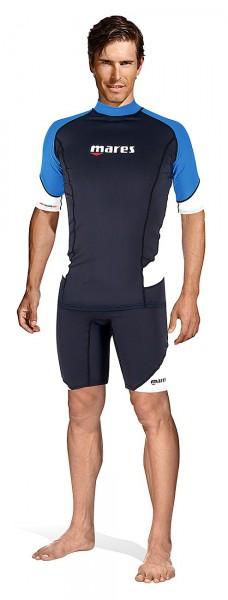 Mares Rush Guard short Sleeve T-Shirt UV Sonnen Schutz Leibchen