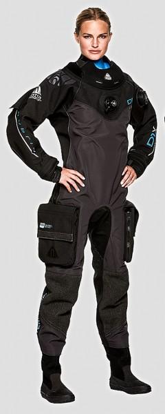 Waterproof D1 HYBRID ISS 3D Mesh Technologie Damen Trockentauchanzug 3D-Mesh Trocken Taucher Anzug