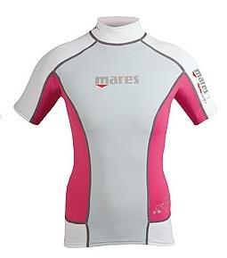 Sonnenschutz UV Schutz Leibchen Mares Trilastic short sleeve she dives pink XS