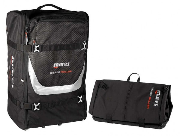Mares Cruise Backpack Roller Tauchrucksack leichte Tauchtasche Taucher Tasche tauchen Reisen