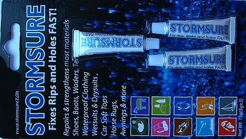 Stormsure Gummi und Neoprenkleber 3 x 5 Gramm Neopren Tauchanzug Kleber