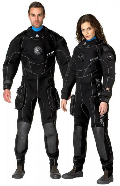 Waterproof D10 Pro ISS Hi-End Neopren Damen Trockentauchanzug Trocken Taucher Anzug tauchen