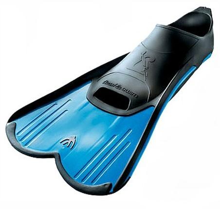 Cressi Light Fins Schwimmflossen blau kurzes Flossenblatt Schwimm Training Flossen kurz schwimmen