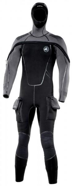 Apeks ThermiQ 8/7 Neoprenanzug Neopren Tauchanzug Kopfhaube Taucher Anzug tauchen Kaltwasser Anzug