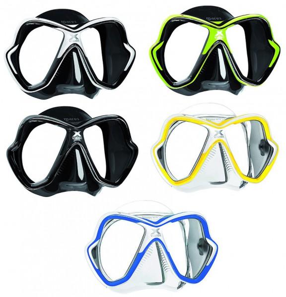 Mares X-VISION Tauchmaske Tauchermaske neues Modell optional optisches Glas Taucher Maske tauchen