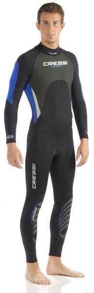 Cressi Morea 3mm Tauchanzug Taucher Anzug Neopren Taucheranzug für warme Gewässer tauchen