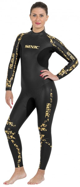 Seac Sub Energy Schwimmanzug 2mm 2 mm Neopren Damen Apnoe Freitaucher Anzug tauchen