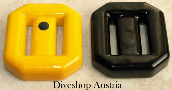 Hollandse 2 kg Blei Hartblei Bleiblock Gummiert Vinylschicht Taucherblei günstig Taucher Blei