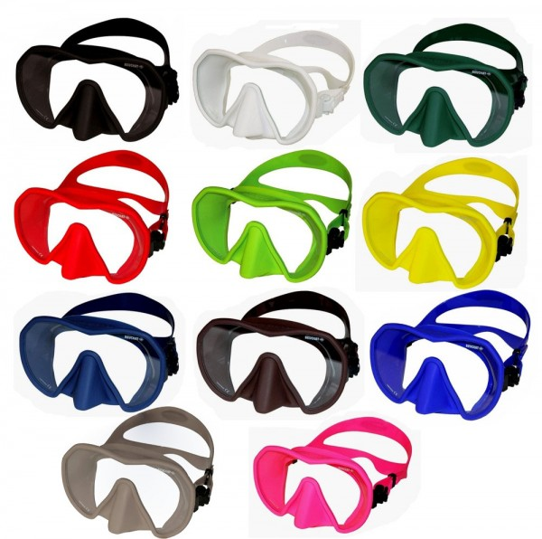 Beuchat Maxlux S Taucherbrille Tauchermaske grosses Sichtfeld Taucher Maske Brille tauchen Apnoe