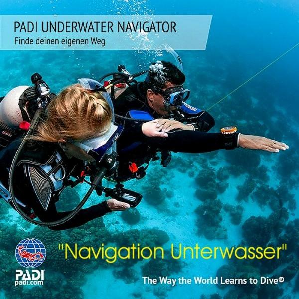 Navigation Unterwasser Padi Spezial Tauchkurs Navigator Tauchausbildung