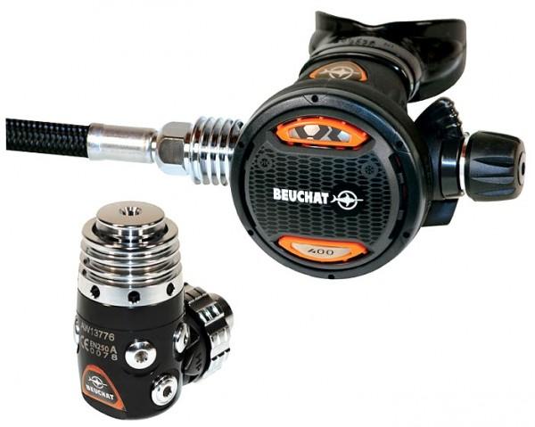 Beuchat VR 400 Atemregler Taucher Regler tauchen DIN Anschluss Kaltwasser Tauchregler