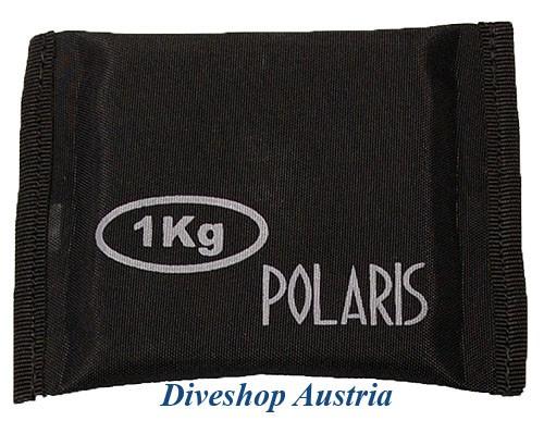 Polaris 1,0kg Tauchblei Formblei Knickblei Taucher Blei tauchen Tafel Blei Gewicht