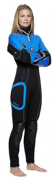 Waterproof SD4 Semidry Damen Halbtrockentauchanzug Halbtrocken Taucheranzug