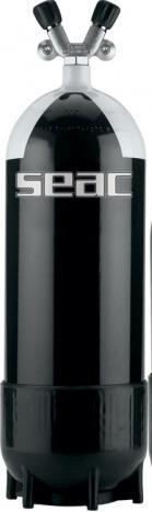 Seac Sub Tauchflasche Taucher Flasche 12 Liter Pressluftflasche Doppelventil tauchen