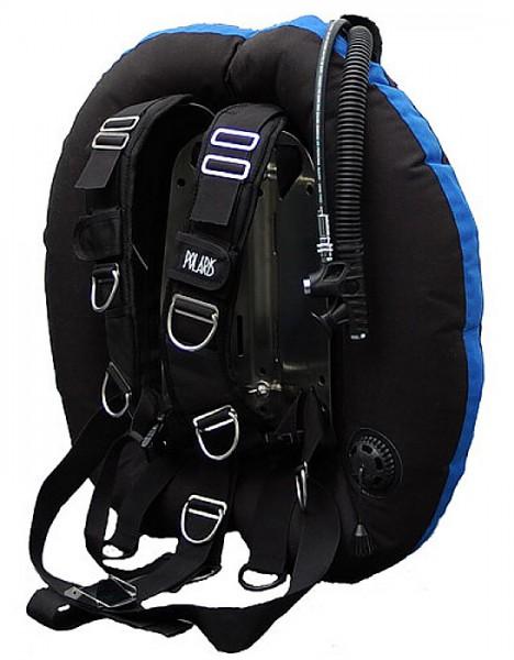 Polaris Wing XT50 komplett Set Wing TEK Jacket für Doppelflasche Tauchjacket Taucher Jacket