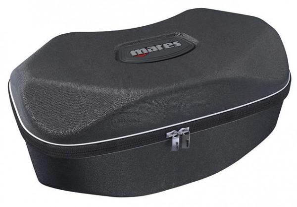 Mares shell oval Tauchmaske Taucher Maske Box Etui sicher verstauen aufbewahren Brille schwarz Staub