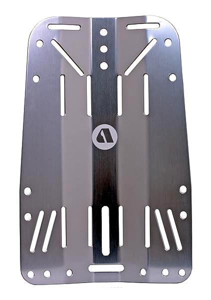 Apeks WTX Back Platte Grundplatte Alu Aluminium für Wing Jacket Backplade