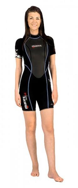 Mares Reef Shorty She Dives Gr. XXS günstig Damen Shorty Taucher Anzug kurz