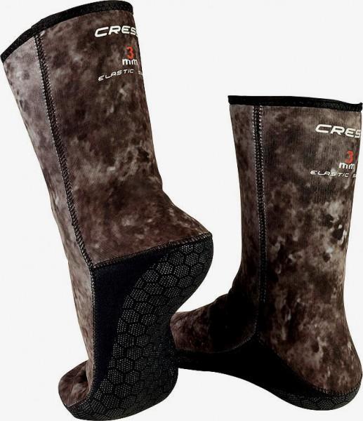 Cressi Tracina Neopren Apnoe Freitaucher Frei tauchen Socken camouflage 3mm Tarnfarbe
