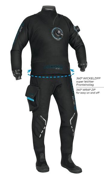 Camaro Arctec 3 Trockentauchanzug Herren Trocken Taucher Anzug elastisch Atmungs aktiv