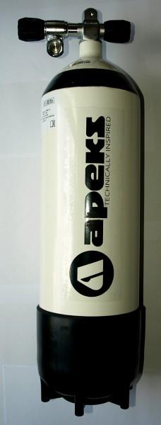 Apeks 10 Liter Tauchflasche Pressluftflasche Taucher Flasche Doppel Ventil