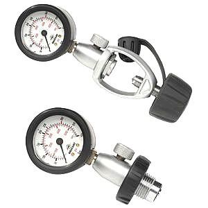 Beuchat Manometer DIN INT Prufdruckgerät Prüfmanometer Taucherflaschen Pressluftflasche
