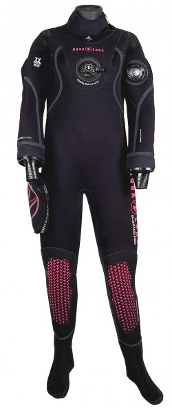 Aqua Lung Blizzard Pro 4mm Neopren Trockentauchanzug Damen Frauen Trocken Taucher Anzug