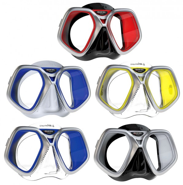 Mares Tauchmaske Chroma Liquid Skin Taucher Maske Brille optional Dioptrien Glas