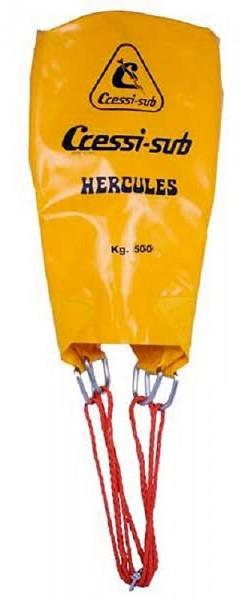Cressi Herkules 500 Liter Kg Hebe Berge Ballon Taucher Hebeballon Bergeballon robuster Bergesack