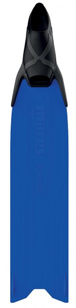 Mares X-Wing Apnoe Freitaucher Flosse lange Taucher Flossen blau Freitauchen Frei tauchen freediving