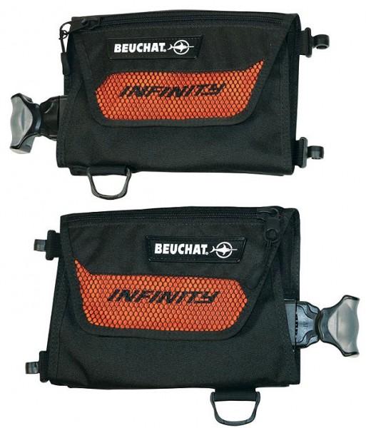 Beuchat Infinity Bleitaschen integrierte Blei Abwurf Taschen optional dazu Integriert