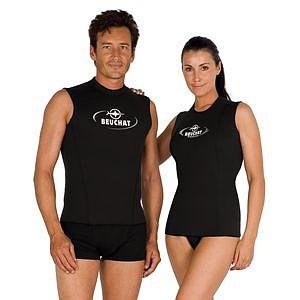 Beuchat Gilet 2,5mm Unterzieher Neopren T - Shirt Damen Titanium