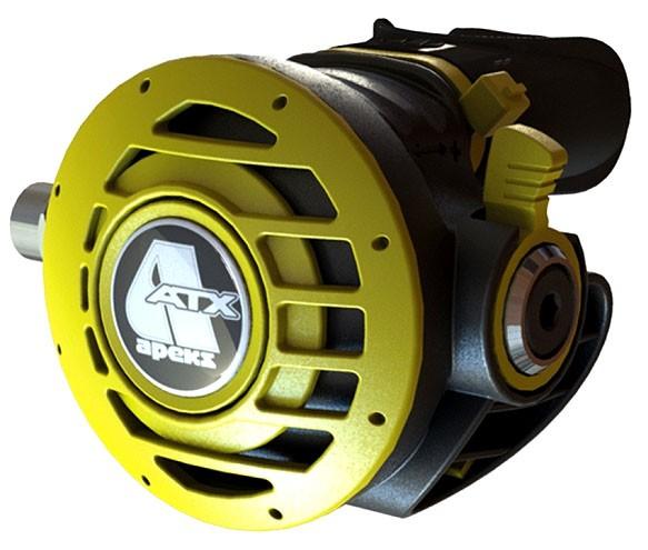 Apeks ATX Oktopus alternativer Luftversorgung Kaltwasser gelb inkl. MD Schlauch
