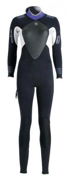 Aqualung Bali Active Tauchanzug 3mm Neopren Damen Frauen dünner Taucher Anzug Gr. 44
