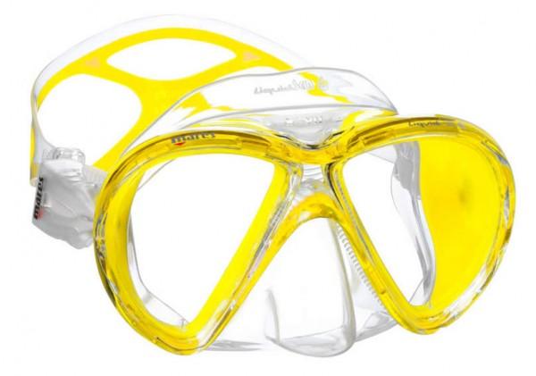 Mares X-VU Liquid Skin Tauchmaske inkl. Dioptrien Glas - 4,0 links und rechts Taucher Maske