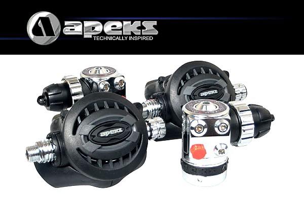Apeks TEK3 Atemregler Set Taucher Regler Tech Regulator