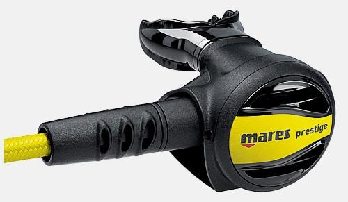 Mares Oktopus Prestige alternative Luftversorgung zweite Szufe 2te Stufe gelb