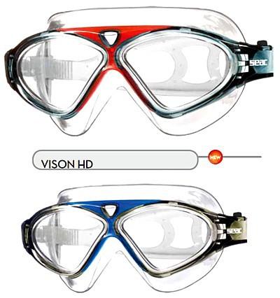 Schwimmbrille Seac Sub Vision HD Schwimmmaske UV - Schutz Brille schwimmen