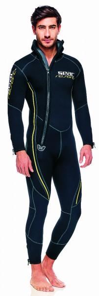 Seac Sub Resort 5,5mm Neopren Taucheranzug Tauchanzug Front Zip